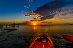 Sunset at Dorcas Bay